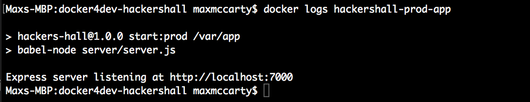 Docker for Devs Part 3: Hot Module Reloading and Live Editing in